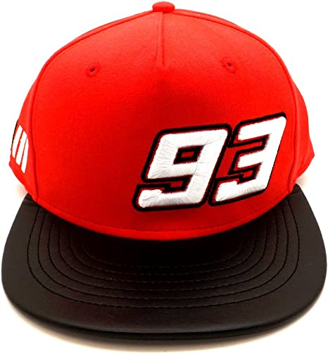 Marc Marquez 93 Moto GP rojo Gorra Oficial 2017: Amazon.es ...