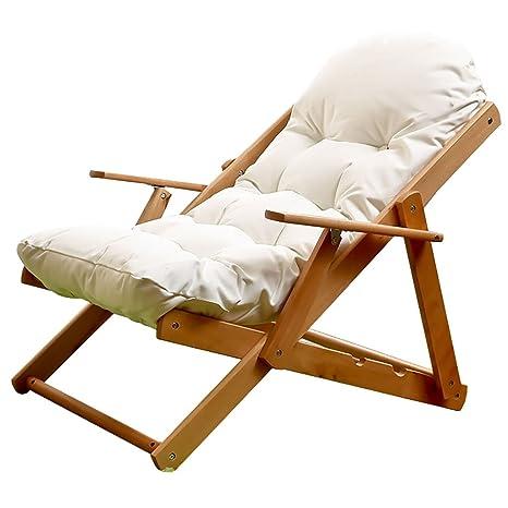 MXXYZ Silla Plegable para el hogar Ocio reclinable Plegable ...