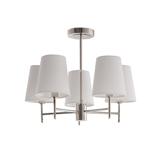 home collection monica flush light home collection amazon co uk