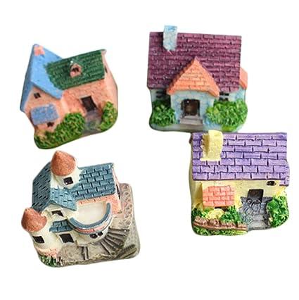 Outflower Adornos en miniatura para jardín de hadas, decoración de ...