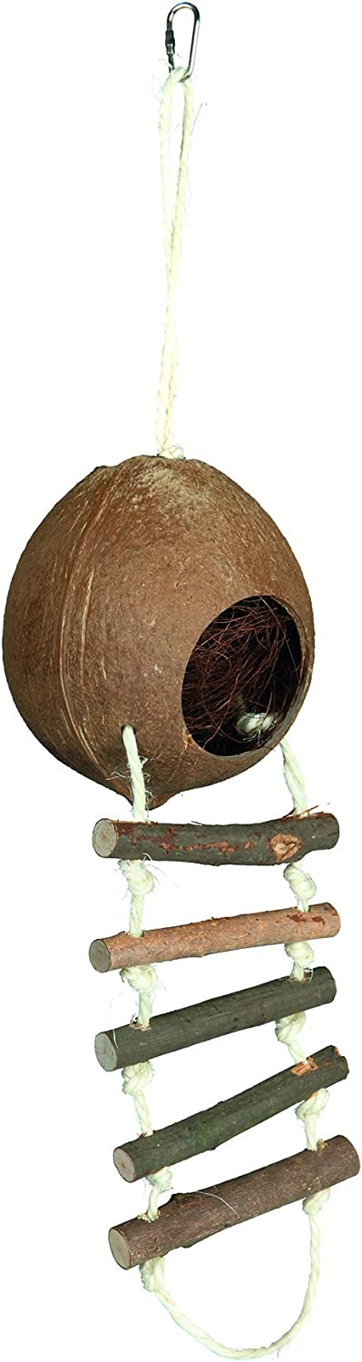 Double 100 x 13 cm Pack of 4 Trixie Coconut House for Hamsters