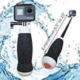 Waterproof Extendable Hand Grip + Floating GoPro Pole 6.5 - 23 (For Hero 6, Hero 5, Hero 4, Session and Fusion) | FLOW by MicroJib
