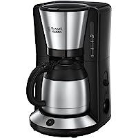 Russell Hobbs Adventure kaffebryggare, 1.0l termoskanna, upp till 8 koppar, automatisk avstängning, droppstopp, 1100W…