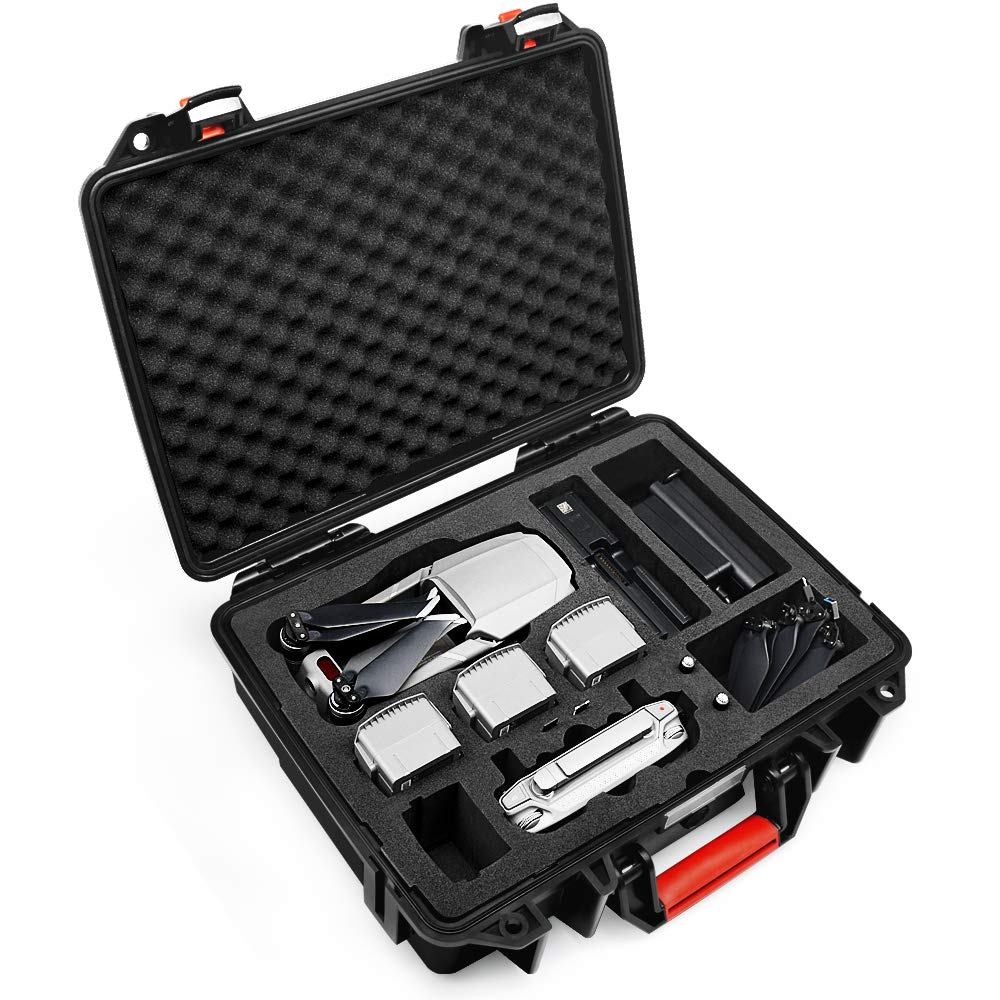 Lekufee DJI Mavic Pro 2 Case,Professional Carrying Case Compatible for DJI Mavic 2 Pro/Zoom and More Accessories