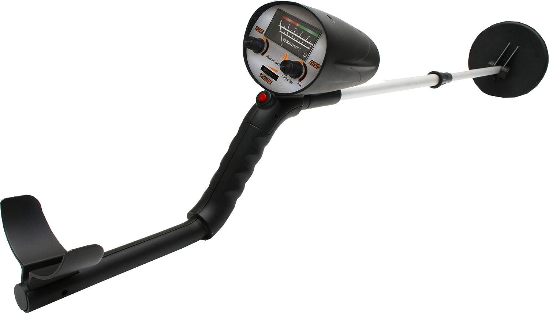 Denver MET-100 Detector de Metales, 9 V, Negro