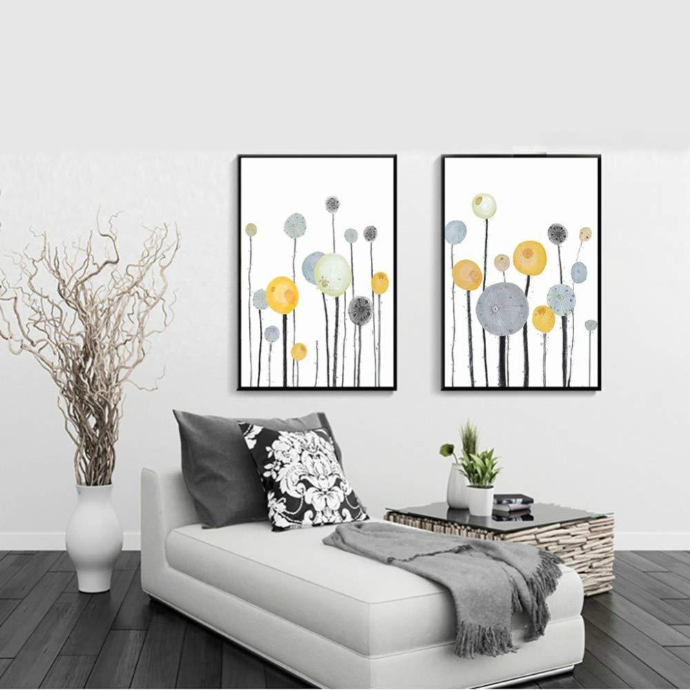 1# Vimbhzlvigour albero stampato poster Home Cafe senza cornice tela pittura Decor 21cm x 30cm Tela