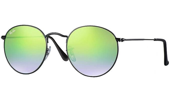 908d8e82519 Ray Ban RB3447 002 4J 50 Shiny Black Green Mirror Gradient Bundle-2