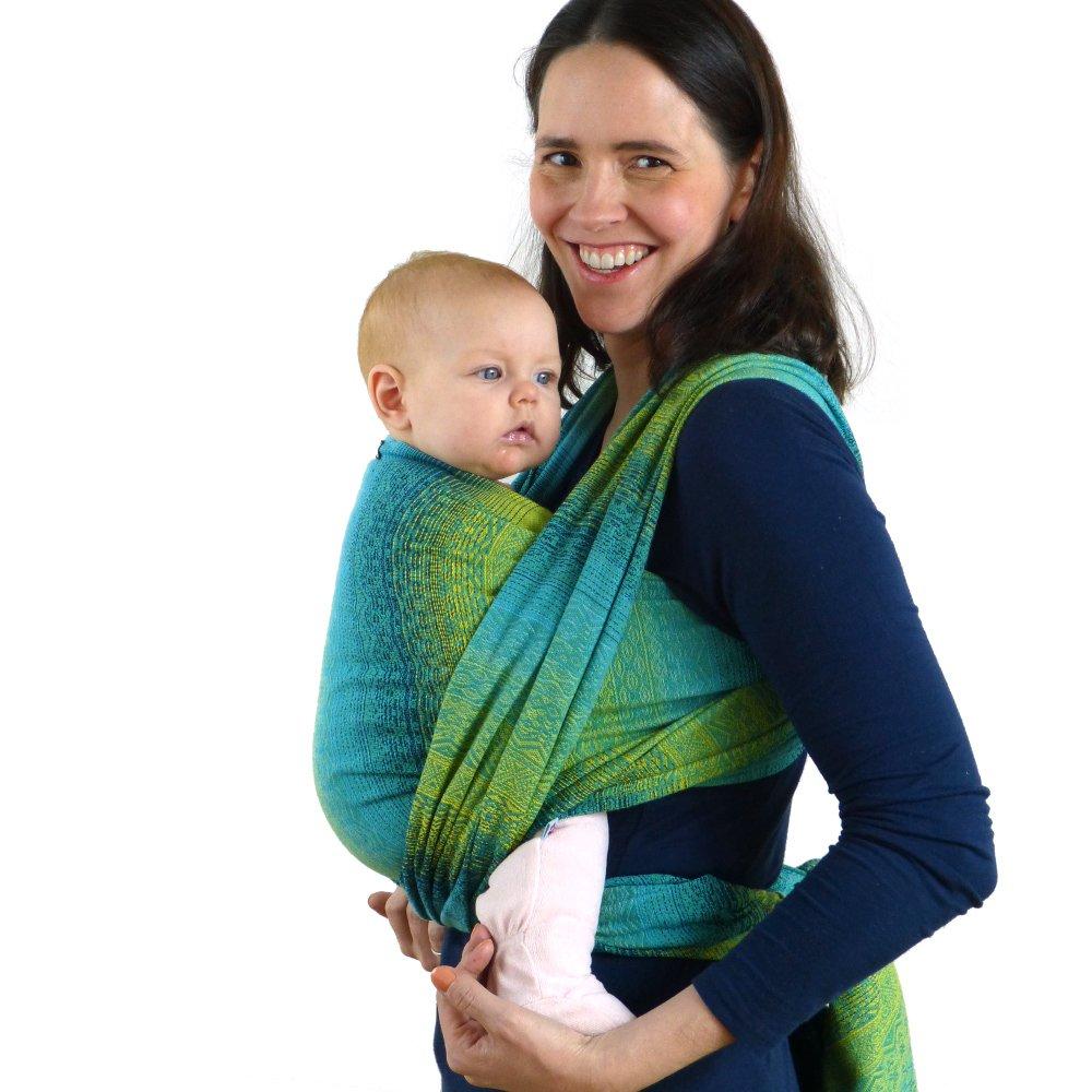 Modell Ada Malachit Didymos Babytragetuch Gr/ö/ße 5
