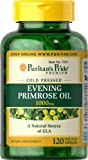 Puritan's Pride Evening Primrose Oil 1000 mg with GLA-120 Softgels
