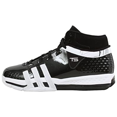 info for 9c173 d5c6f adidas MenS Ts Creator Team Basketball Shoe,BlackWhiteBlack,16 M