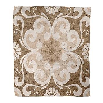 Amazon Com Golee Throw Blanket Interior Floor Tiles Porcelain