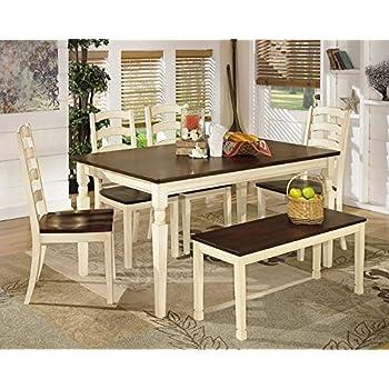 Amazon.com: Ashley Furniture Signature Design - Whitesburg 6-Piece ...