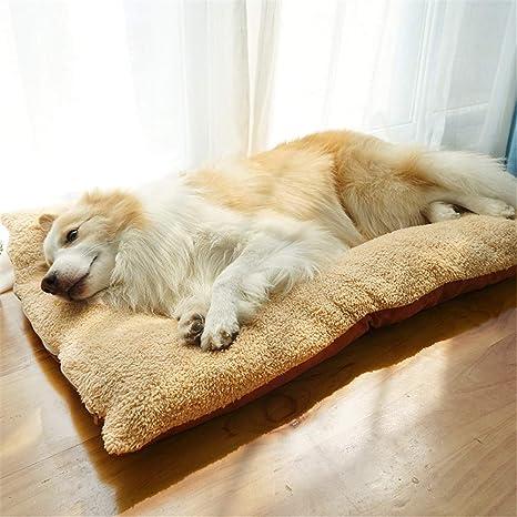 Steaean Mascota para perros cama grande para perros perrera Golden Retriever súper grande estera para perros
