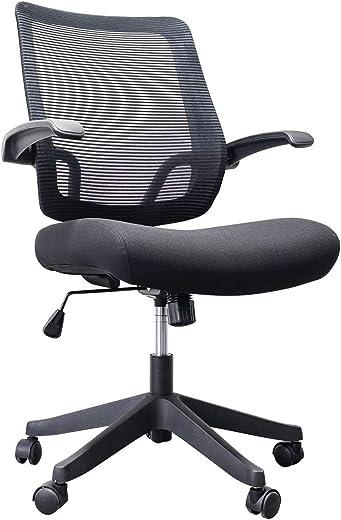 Qwork Ergonomic Office Chair Padded Seat Desk Task Chair