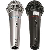 Microfone com Fio de Mão VOXTRON By CSR VOX CSR 505 Dinâmico 600 OHMS c/cabo 3MTS (PAR)