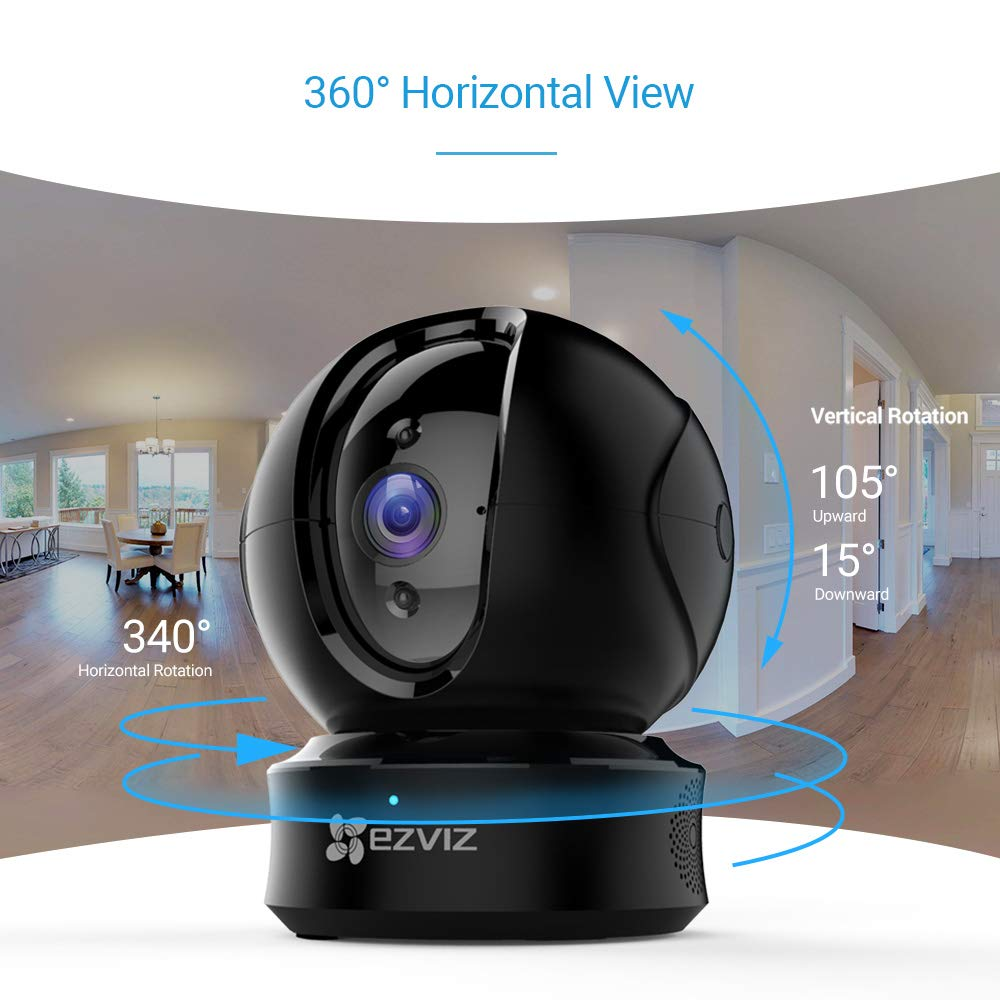 Cámaras en domo EZVIZ Cámara de vigilancia WiFi Interior 720p