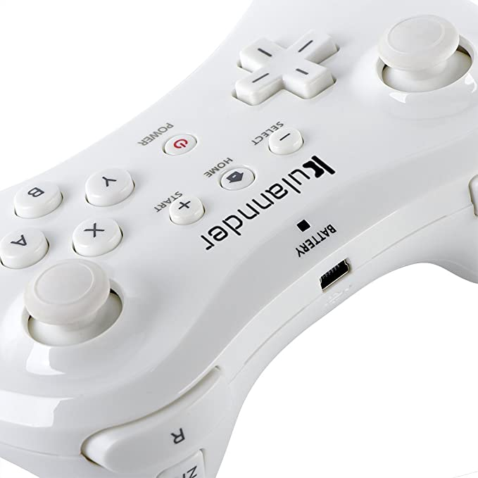 Amazon.com: kulannder (2-Pack) Wii U Pro Controller- regalo ...