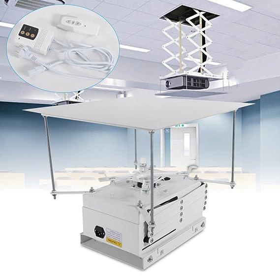 SENDERPICK - Soporte para proyector eléctrico motorizado (100 cm ...