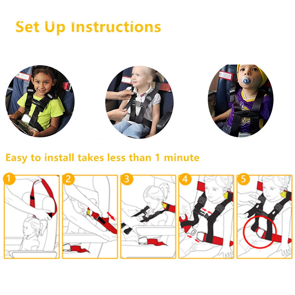 Child Airplane Travel Harness,FAA Approved Child Airplane Safety Harness,Airplane Child Comfort System