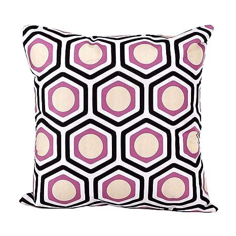 Fundas de cojín, TWBB Forma geométrica sofá Cama decoración para el hogar Funda de Almohada
