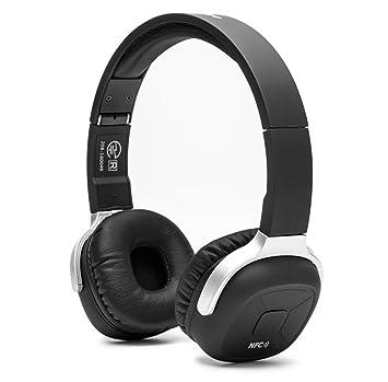 Wireless Auriculares Bluetooth, fuleadture Bluetooth V4.1 Estéreo Plegable Deporte Running auricular auriculares con micrófono NFC y para todos los ...