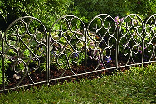 Classic Scroll Iron Garden Edging by Plow & Hearth (Image #1)