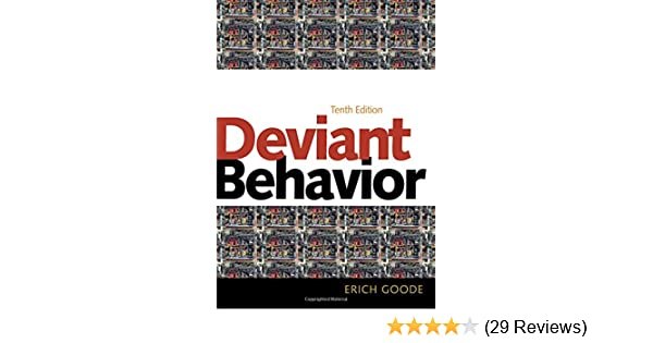 Amazon deviant behavior 9780205899661 erich goode books fandeluxe Images