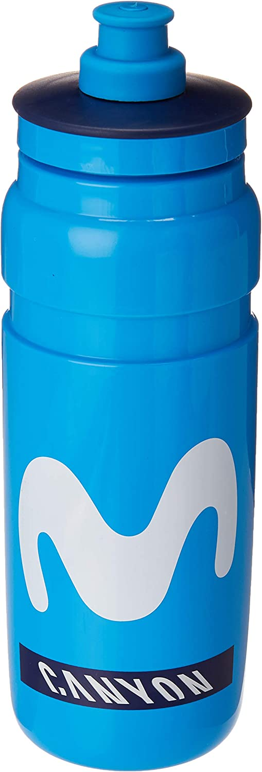Bidon Elite Fly movistar 750 ml: Amazon.es: Deportes y aire libre