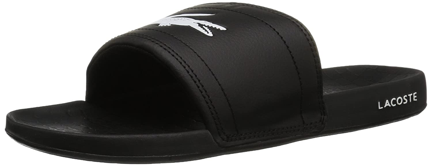 ae424a215 Amazon.com  Lacoste Men s Fraisier Slides  Shoes