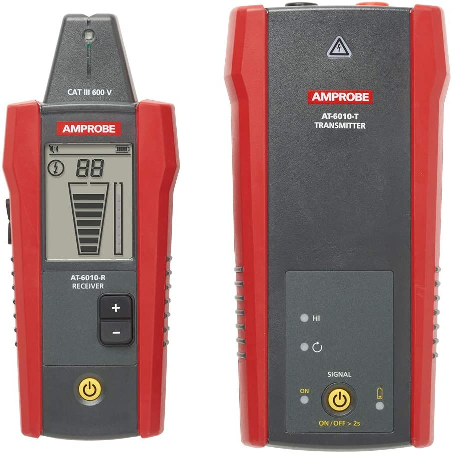 circuit tracers \u0026 analyzers amazon com  amprobe advanced wire tracer at 1000