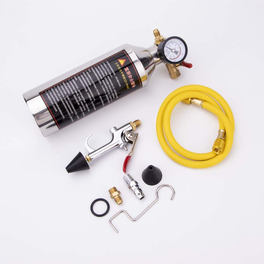 Leoie Air Conditioning Tube Cleaning A//C Bottle Kits for Clean Tool for R134a R12 R22 R410a R404a
