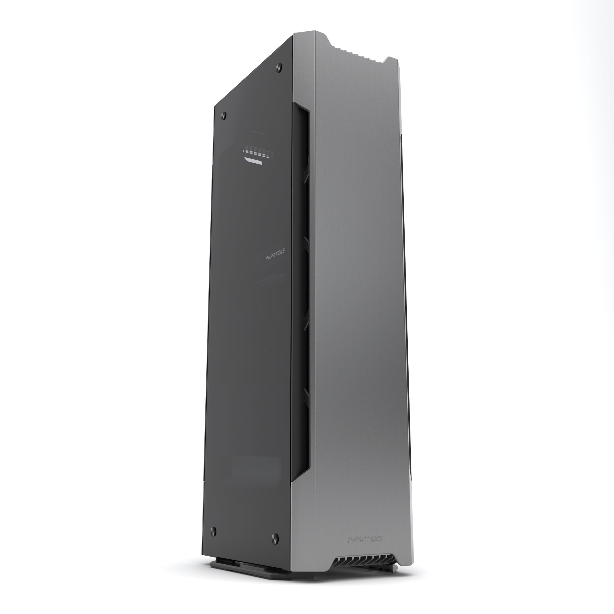 Phanteks Evolv Shift X Mini ITX Case Small Footprint Multiple Orientations 360-Degrees of Accessibility Vertical Airflow Cases PH-ES217XE_AG Gray
