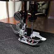 Prensatelas para máquina de coser con guía ajustable, con ...