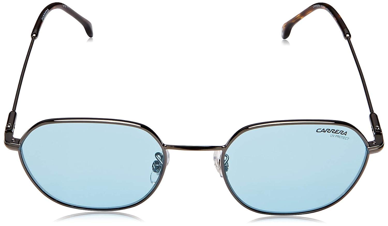 1c673f138c10 Amazon.com: Carrera 180/F/S Sunglasses CA180FS-0H80-KU-5019 - Havana Blue  Rust Frame, Blue Avio Lenses, Lens: Clothing
