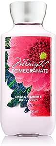 Bath & Body Works Midnight Pomegranate 8 Fl Oz Body Lotion with Shea & Vitamin E