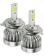 Kit de Focos LED H4 Modelo C1 40w para faros principales con Alta y Baja en un mismo Foco (BI-LED)