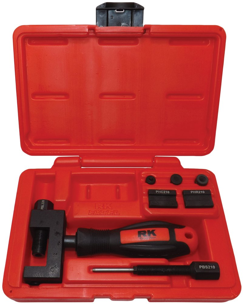 RK UCT 4060 Universal Chain Breaker, Cutter, Press-Fit and Rivet Tool Kit