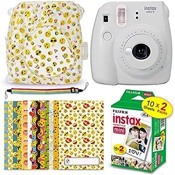 Amazon.com : FujiFilm Instax Mini 9 Instant Camera Smokey