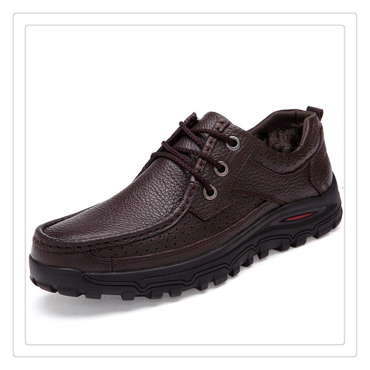 Genuine Leather Warm Men Boots,Comfortable Ankle Men Shoes,Quality Snow Boots