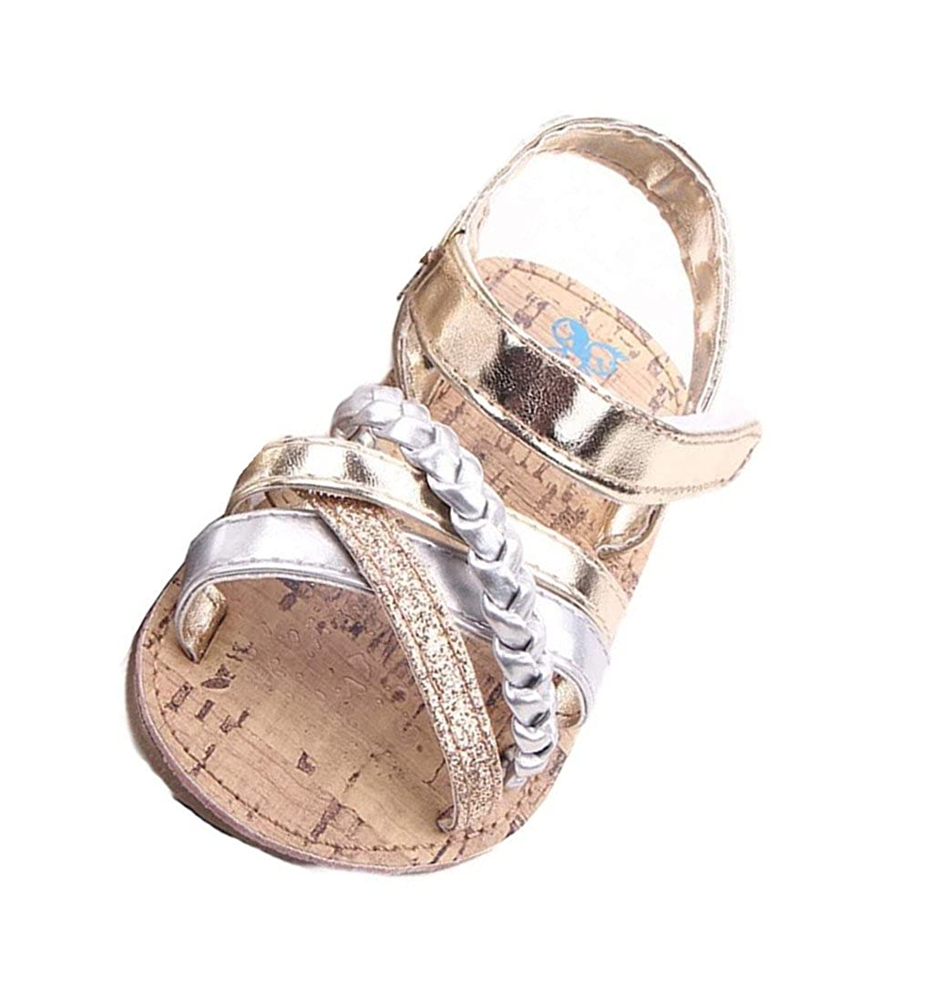 IMJONO Chaussures Fille, Bébé Sandales en Plein air Princesse enfantine Premier Walkers Chaussures Enfant IMJONO-22