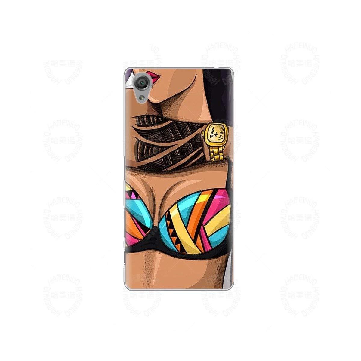 Amazon.com: Sexy Girl - Carcasa para Sony Xperia C6 XA1 XA2 ...