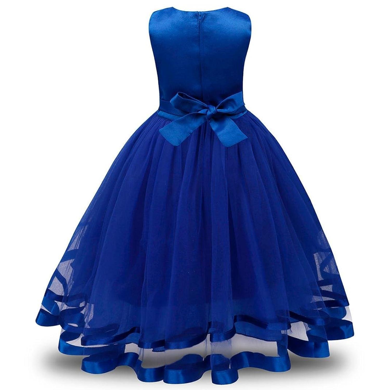 Bekleidung Longra Longra Mädchen Kleid Festlich Brautjungfern Kleid ...