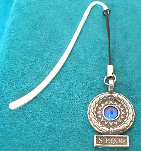 Victory Standard Blue Gem Bookmark in English Pewter (With Gift Box)