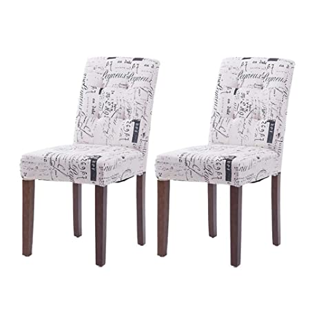 Swell Amazon Com Qqxx Dining Chairs Chairs Upholstered Set Of 2 Short Links Chair Design For Home Short Linksinfo