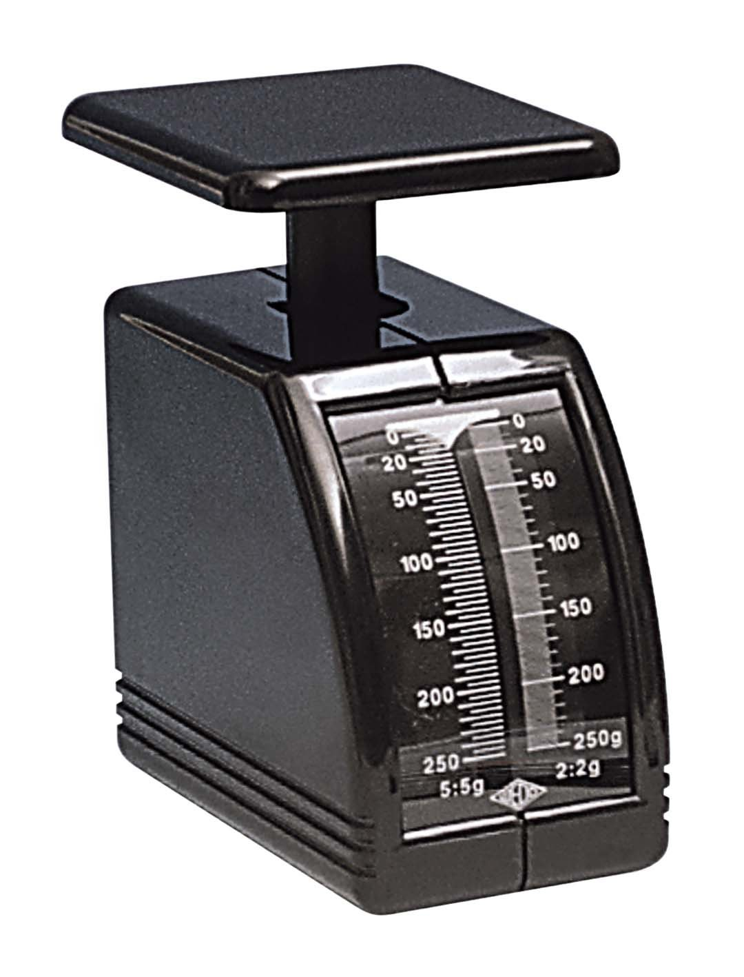 Wedo 249862001 Handy Pèse-lettres mécanique capacité 250 g incrémentation 2 g Dimensions 194 x 70 x 115 mm