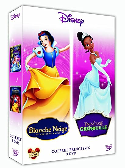La Princesse et la grenouille + Blanche Neige et les Sept Nains ...