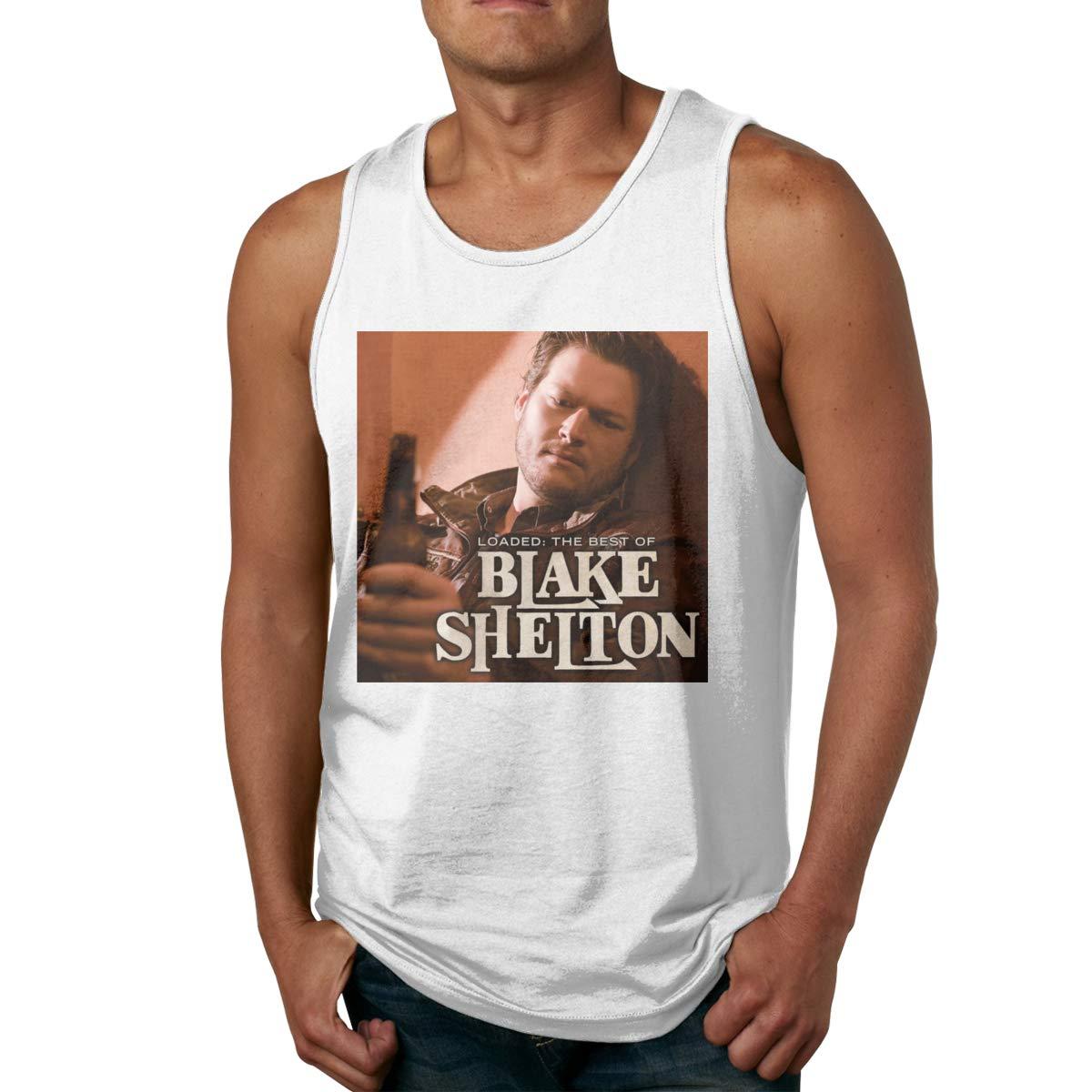 Blake Shelton Loaded The Best Of Blake Shelton Athletic Muscle Sleeveless Tank Top T-shirt