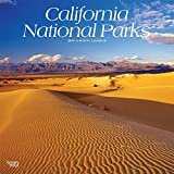 California National Parks 2019 12 x 12 Inch Monthly Square Wall Calendar, USA United States of America Pacific West State Nature (Multilingual Edition)