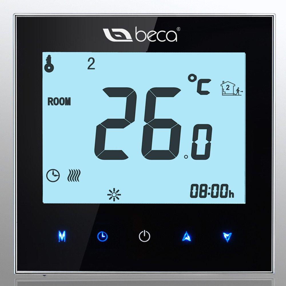 Smart Control termostato, Beca LCD pantalla táctil 3/16 A agua ...