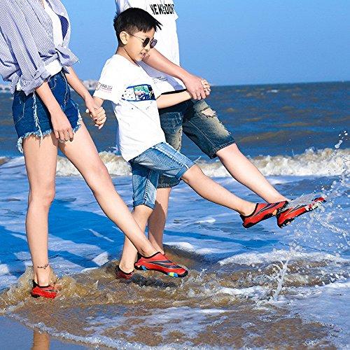 confortables en rapide et NAN séchage chaussures douces enfant chaussures Chaussures chaussures natation de antidérapantes apnée de unisexes chaussures plage de plongée patinage de parent a6qavzr